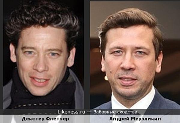 Декстер Флетчер и Андрей Мерзликин