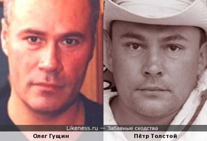 Олег Гущин и Пётр Толстой ( с одобрения Iraniki)