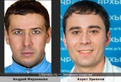 Азрет Эркенов напоминает Андрея Мерзликина
