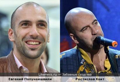 Евгений Папунаишвили vs Ростислав Хаит
