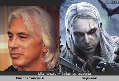 Ведьмак vs Хворостовский