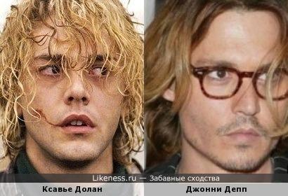 Ксавье Долан и Джонни Депп