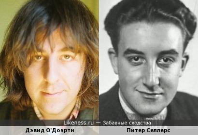 Дэвид О'Доэрти похож на Питера Селлерса