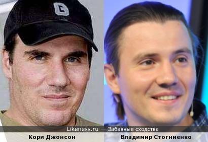 Кори Джонсон / Владимир Стогниенко