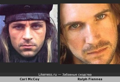 Carl McCoy - Ralph Fiennes