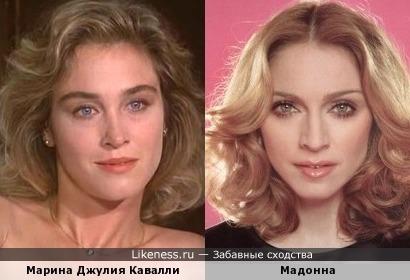 Малоизвестная итальянская актриса напомнила Мадонну