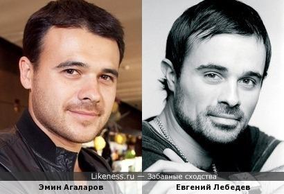 Эмин Агаларов и Евгений Лебедев: наследники.