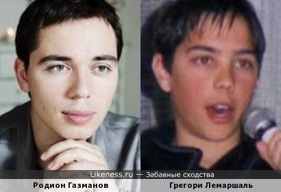 Родион Газманов и Грегори Лемаршаль