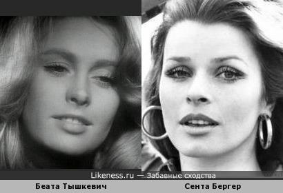 Польская и немецкая красавицы-актрисы