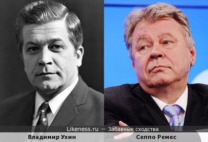 Дядя Володя (Владимир Ухин) и финский бизнесмен Сеппо Ремес