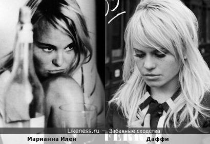 Возлюбленная Леонардо Коэна и певица Даффи
