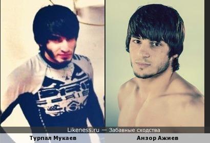 Турпал Мукаев похож на Анзора Ажиева