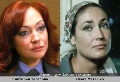 Виктория Тарасова и Oльга Mатешко