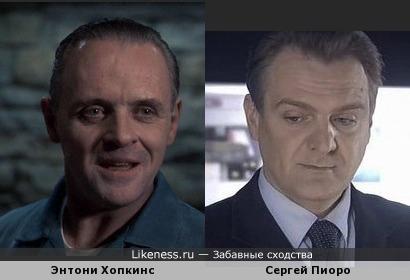 """Хопкинс похож на Пиоро из сериала """"След"""""""