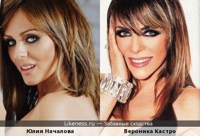 Юлия Началова и Вероника Кастро