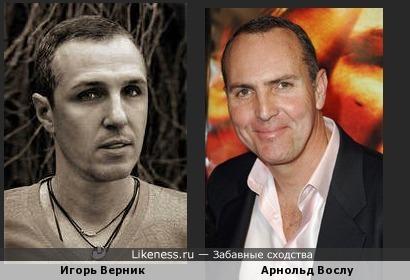 Игорь Верник похож на Арнольда Вослу