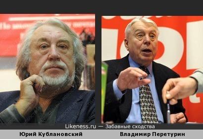 Юрий Кублановский похож на Владимира Перетурина