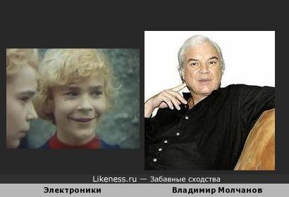 Всегда находил что-то общее между Электрониками и Владимиром Молчановым