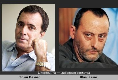 Актёры Тони Рамос и Жан Рено и ровесники,и внешне похожи!