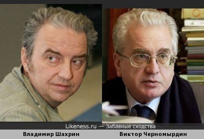 Владимир Шахрин похож на Михаила Пиотровского
