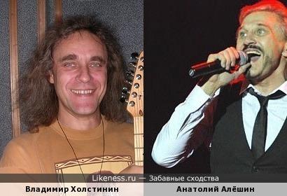 Владимир Холстинин похож на Анатолия Алёшина
