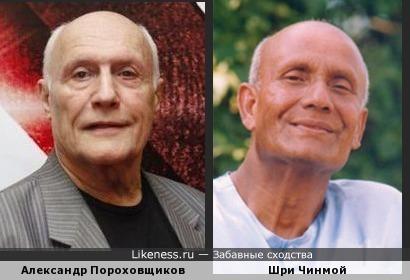 Александр Пороховщиков похож на Шри Чинмоя