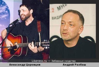 Бард Александр Царовцев напоминает одного из основателей телекомпании ВиД Андрея Разбаша
