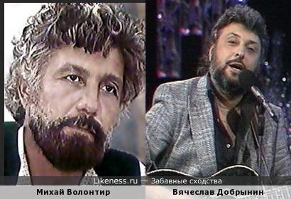 Русофоб Михай Волонтир похож на Вячеслава Добрынина