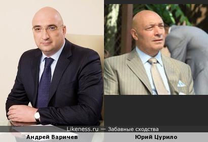 Директор УК Металлоинвест Андрей Варичев похож на актёра Юрия Цурило
