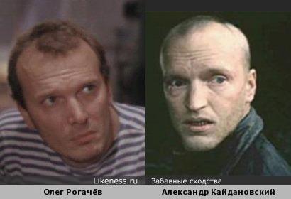 Актёры Олег Рогачёв и Александр Кайдановский