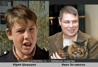 Актёр Юрий Шашурин похож на Телезоолога Ивана Затевахина!