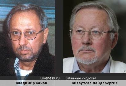 Владимир Качан напоминает севшего на диету Литовского Президента