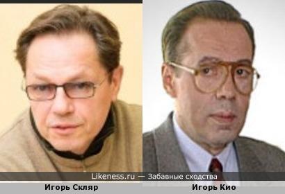 Игорь Скляр с годами становится похож всё больше и больше на своего тёзку Игоря Кио!