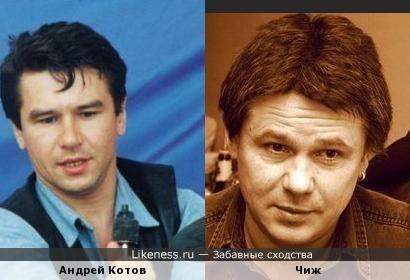 Вы будете смеяться,но Андрей Котов опять похож на коллегу по цеху!