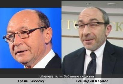 Президент Румынии напоминает Мэра Харькова