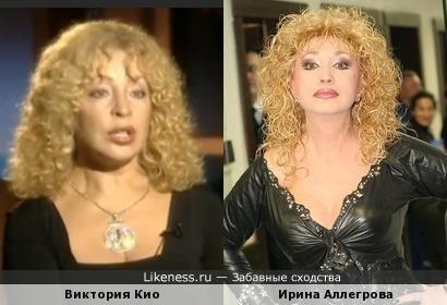 Супруга Игоря Кио похожа на Королеву Русского Шансона!
