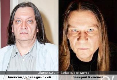 Александр Велединский и Валерий Кипелов