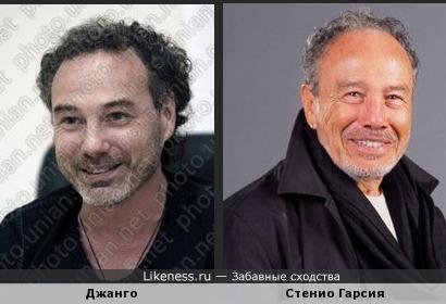 Стенио Гарсия-это постаревший Алексей Поддубный!