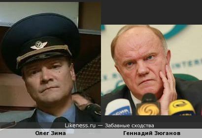 Геннадию Андреевичу бы ещё фуражечку!