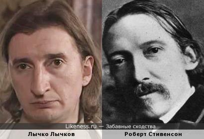 Казанова из Ментов похож до ужаса на автора Острова Сокровищ!
