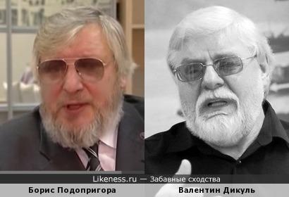 Публицист Борис Подопригора похож на Силача Валентина Дикуля