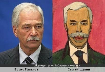 Политик Борис Грызлов напомнил мецената Сергея Щукина на портрете Крона Христиана Корнелиуса