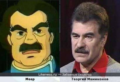 Персонаж из мультфильма похож на лидера Шоу-Группы Доктор Ватсон