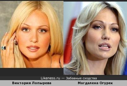 Мисс Россия похожа на кандидата в президенты Польши