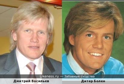 Известный Российский биатлонист похож на немецкого кумира Советской молодёжи!