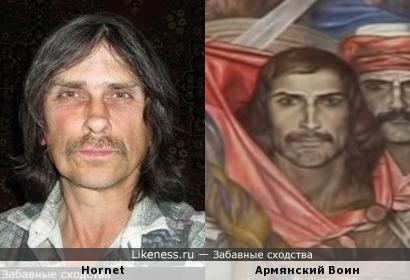 Известный в узких кругах человек похож на Воина с армянской картины