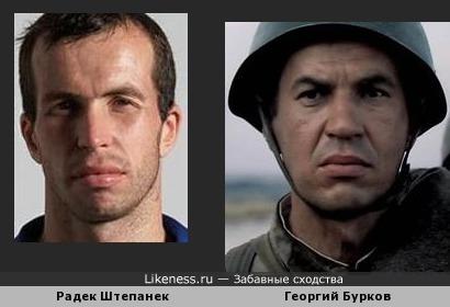 Радек Штепанек напоминает Георгия Буркова