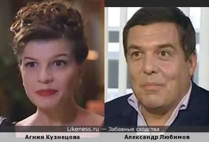 Актриса из трэш-фильмов похожа на тележурналиста,стоявшего у истоков телекомпании ВиД