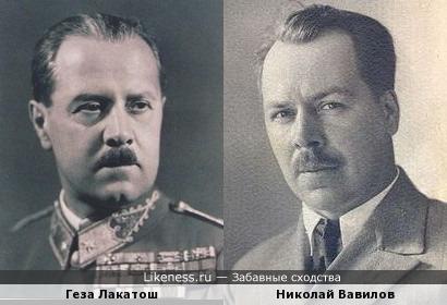 Геза Лакатош похож на Николая Вавилова