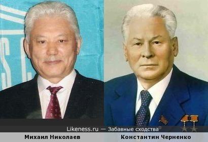 Президент Якутии похож на генерального секретаря компартии(1984-1985)